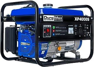 DuroMax XP4000S Gas Powered Portable Generator- 4000 Watt-Recoil Start-Camping & RV..