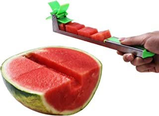 Sunhyatt Windmill Stainless Steel Watermelon Slicer Cutter Fruit Knife Security tool Vegetable Tools Kitchen Gadgets