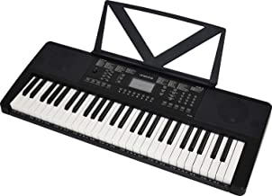 ONETONE ワントーン 電子キーボード 54鍵盤 LCDディスプレイ搭載 日本語表記 OTK-54N/BK (譜面立て/電源アダプター付き)