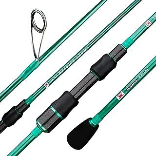 BERRYPRO Ultralight Spinning Fishing Rod, Travel Spinning...