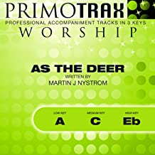 as the deer backing track