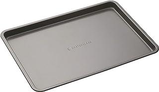 MasterClass Plaque de Cuisson Antiadhésive en Acier au Carbone sans BPA pour Four et Grill 35x25 cm (14'x10')