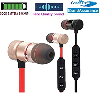 77dd384ea7d Ionix Stereo Wireless Magnetic Bluetooth Headset for All Smartphones,  Wireless Bluetooth,Bluetooth Earphones for