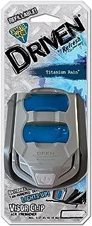 Refresh Your Car Driven E300883300 Scented Visor Clip, Titanium Rain