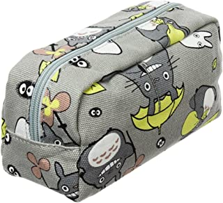 My Neighbor Totoro Pen Bag Pencil Case Cosmetic Makeup Bag Pouch (Green)