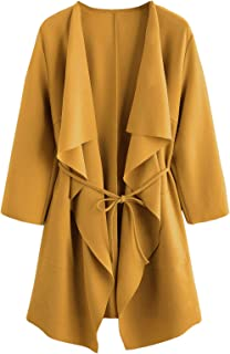 25a5757f9499e Amazon.com: Yellows - Trench Coats / Trench, Rain & Anoraks ...
