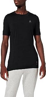 Odlo Heren Bl Top Crew Neck S/S Natural + Licht Onderhemd