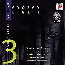 György Ligeti Edition 3: Works for Piano Etudes, Musica Ricercata Pierre-Laurent Aimard