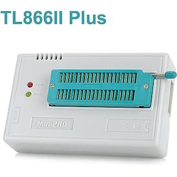 DollaTek TL866II Plus USB Hochleistungs-EEPROM Flash BIOS Programmierer für ATMEL AVR ATMEGA AT90 PIC GAL SRAM CMOS
