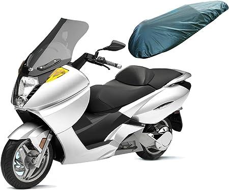 A Pro Universal Motorcycle Motorbike Nylon Heavy Duty Waterproof Seat Covers Black L Auto
