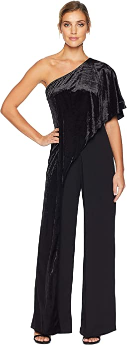 Velvet Long Jumpsuit