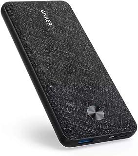 Anker PowerCore Metro Slim 10000 - Black (fabric)