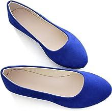Amazon.com: Royal Blue Ballet Flats