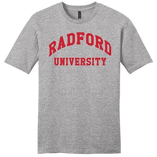 b5276706f08 Campus Merchandise NCAA Unisex NCAA Radford University Arch Soft Style  T-Shirt