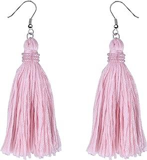 Tassel Earrings Bohemian Tiered Thread Tassel Dangle Earring for Women Girls