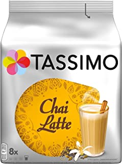 Tassimo Twinings Chai Tea Latte T Discs (40 Count, 5 Packs of 8)