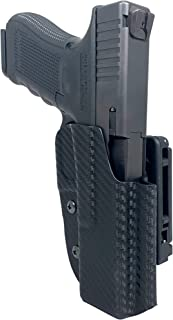 Black Scorpion Gear OWB Kydex Competition Holster, IDPA Approved fits Glock 17 Gen 1-5