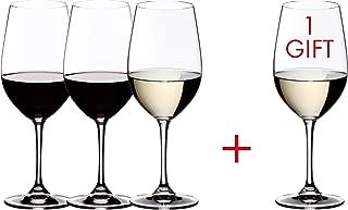 Riedel VINUM Reisling Grand Cru/Zinfandel Glasses, Pay for 3 get 4