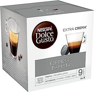 Nescafé Dolce Gusto Espresso Barista - Café - 96 Capsules (Pack de 6 boîtes x 16)