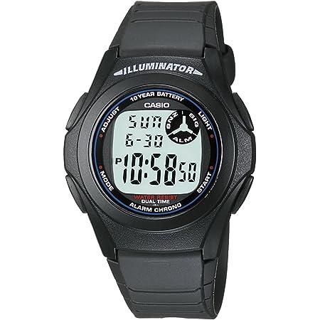 [カシオ] 腕時計 スタンダード F-200W-1AJF ブラック