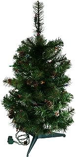 2 Foot Prelit Multi Lights Sherwood Artificial Christmas Tree [MXT45124AM]