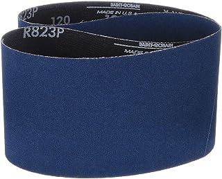 Zirconia Alumina Grit 60 1 Width Pack of 5 Polyester Backing 42 Length Norton BlueFire R823P Benchstand Abrasive Belt Waterproof