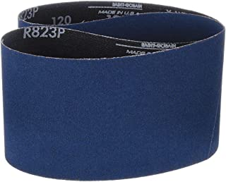 Zirconia Alumina Waterproof 3//4 Width Polyester Backing 20-1//2 Length Pack of 10 Grit 60 Norton BlueFire R823P File Abrasive Belt