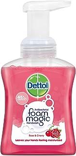 Dettol Foaming Hand Wash, Rose Cherry, 250ml
