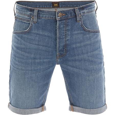 Lee Herren Jeans Short Regular Fit Kurze Stretch Shorts