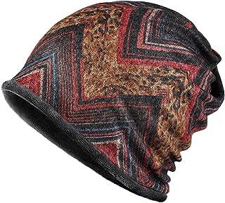 Jemis Knit Winter Baggy Sleep Turban Hat Headwear for Cancer Patients