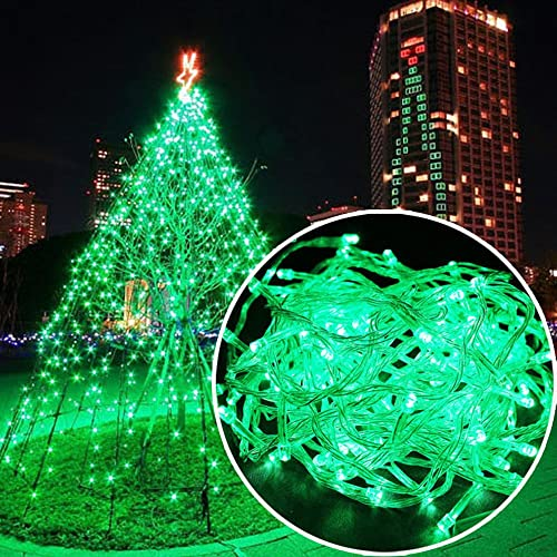 Autolizer 100 LED Green Fairy String Lights Lamp for Xmas Tree Holiday  Wedding Party Decoration Halloween - Christmas Light Displays: Amazon.com