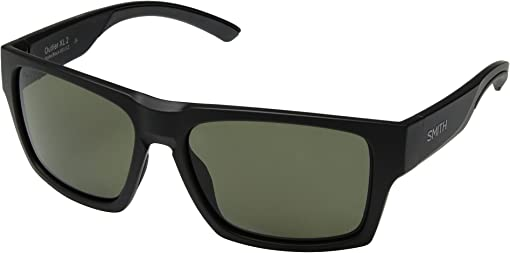 Matte Black/Gray Green ChromaPop™ Polarized Lens