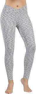 ODODOS Power Flex Yoga Pants Tummy Control Workout Leggings 4 Way Stretch Yoga Pants with Pockets