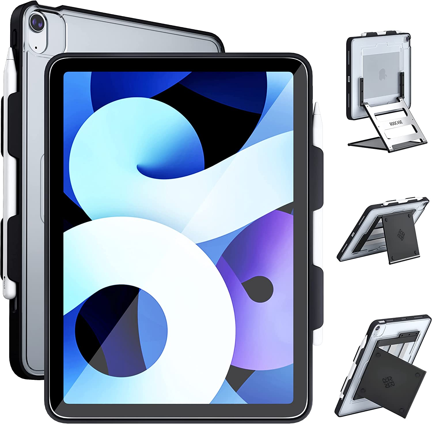 ROOCASE Branded goods Adjustable 2021 iPad 10.9 Inch Stand with Table Case and Over item handling