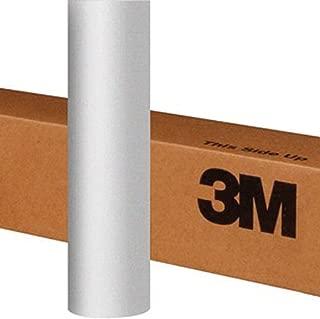 3M 1080 S120 Satin White Aluminum 5ft x 1ft (5 sq/ft) Car Wrap Vinyl Film