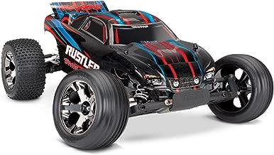 Traxxas 37076-4 Rustler VXL 2WD Brushless Stadium Truck, Red