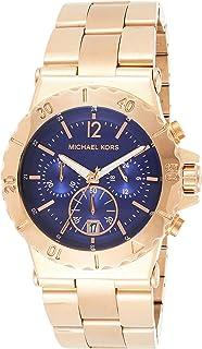 Michael Kors Womens Quartz Watch, Analog Display and Stainless Steel Strap MK5410