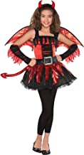 AMSCAN Daredevil Halloween Costume for Girls, Large, with Included Accessories