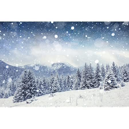 photogragh art poster Winter Mountain household decorative items
