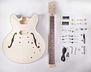 Best 335 style guitar kit Reviews
