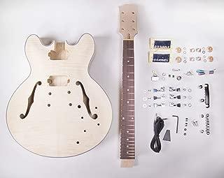DIY Electric Guitar Kit - 335 Style Build Your Own Guitar Kit