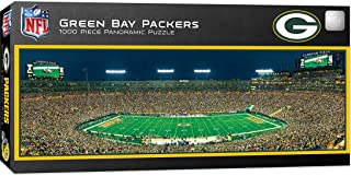 MasterPieces NFL Green Bay Packers Stadium Panoramic Jigsaw Puzzle, 1000 Pieces