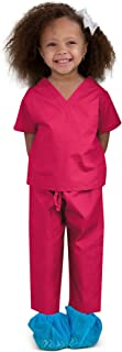 toddler pink scrubs