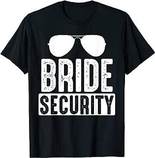 wedding security shirt