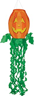 In the Breeze 4998 Jack O' Lantern 3D Windsock-Outdoor Halloween Decoration, 40 Inch