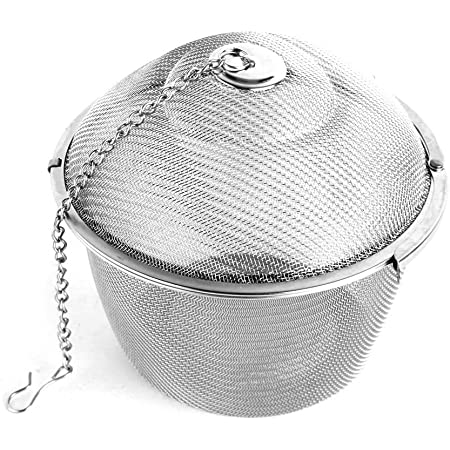 Stainless Steel Tea Infuser Mesh Ball Herbal Spice Strainer Filter Long Handle