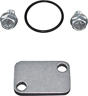 ICT Billet Choke Plate Cover Intake Adapter O-ring Seal Compatible With Small Chevy Chevrolet SBC 305 327 350 383 5.0L 5.7L Designed & Manufactured in the USA 551638