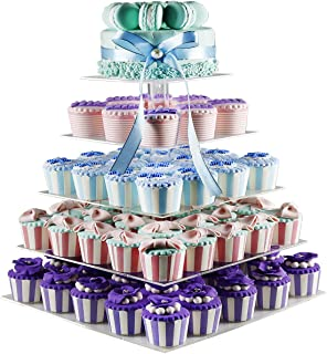 Best 3 tier acrylic wedding cake stand Reviews