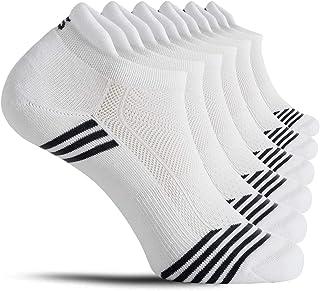 CelerSport Ankle Running Socks for Men Low Cut Athletic Sports Socks(6 Pairs)