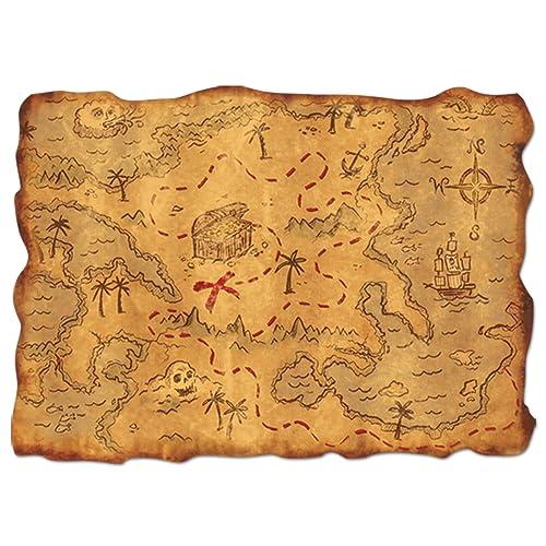 Pirate Treasure Map Rug: Pirate Treasure Map: Amazon.co.uk